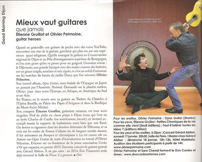 presse opus guitar mag Big bang